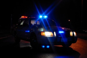 DUI police car at night Criminal Lawyer Pierce County